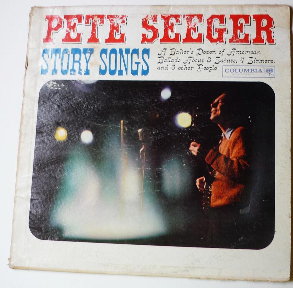Story Songs lp by Pete Seeger