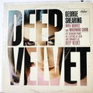 Deep Velvet  lp by George Shearing