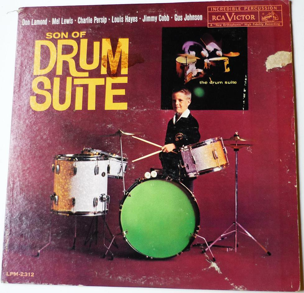 Son of Drum Suite lp Lamond Lewis Persip Hayes Cobb Johnson