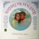 Rhapsodies For Young Lovers lp by Midnight String Quartet