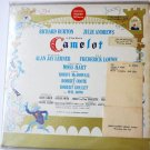 Camelot lp with Richard Burton and Julie Andrews