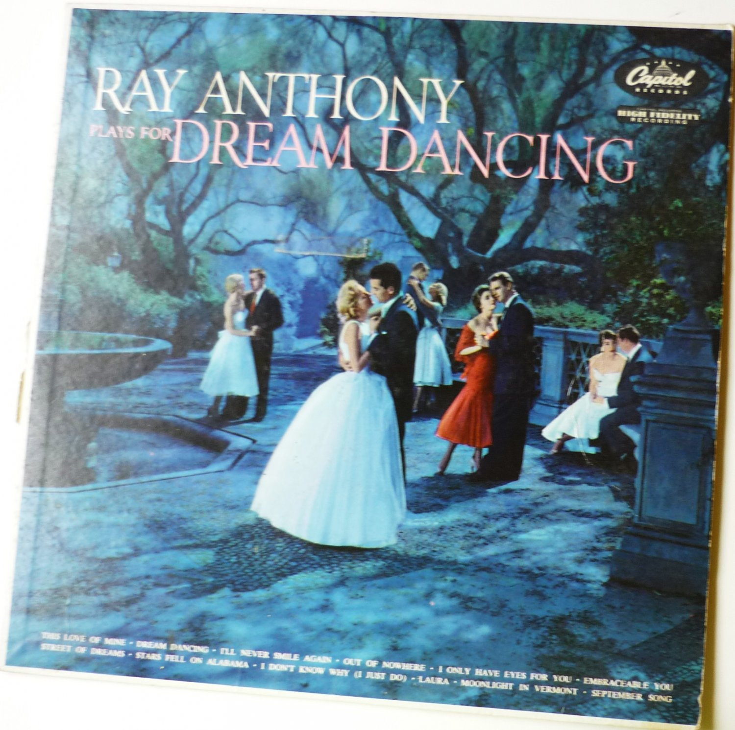 Ray Anthony Plays For Dream Dancing lp