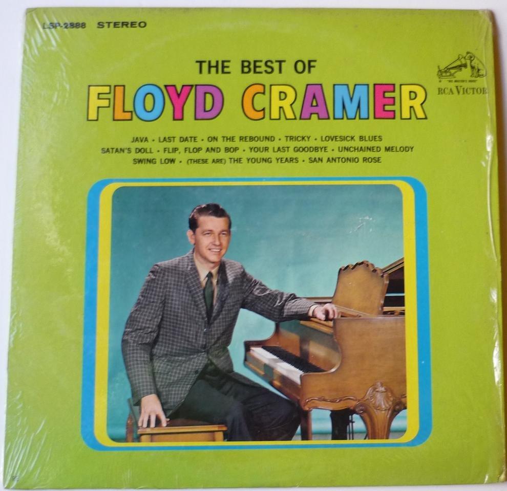 The Best of Floyd Cramer lp by Floyd Cramer