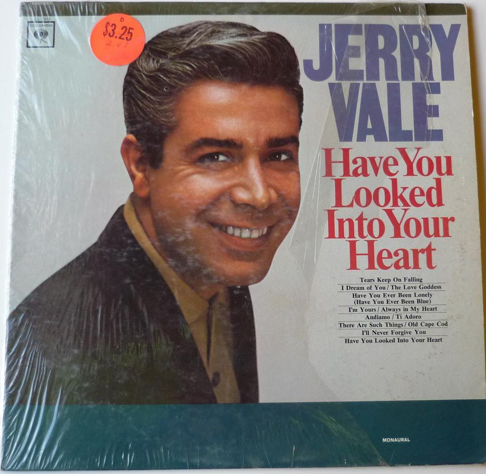 Have You Looked into Your Heart lp by Jerry Vale