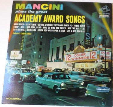 Mancini Plays the Great Academy Award Songs lp