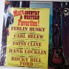 More Country and Western Favorites lp by various Artists