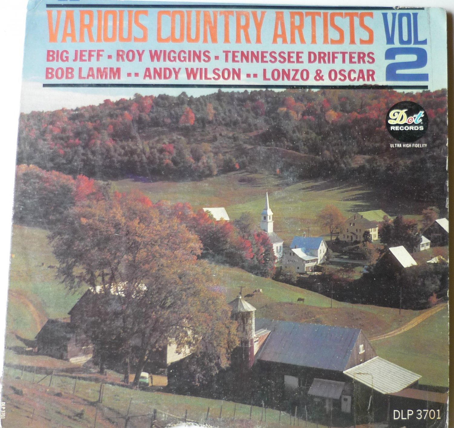 Various Country Artists Vol 2 LP