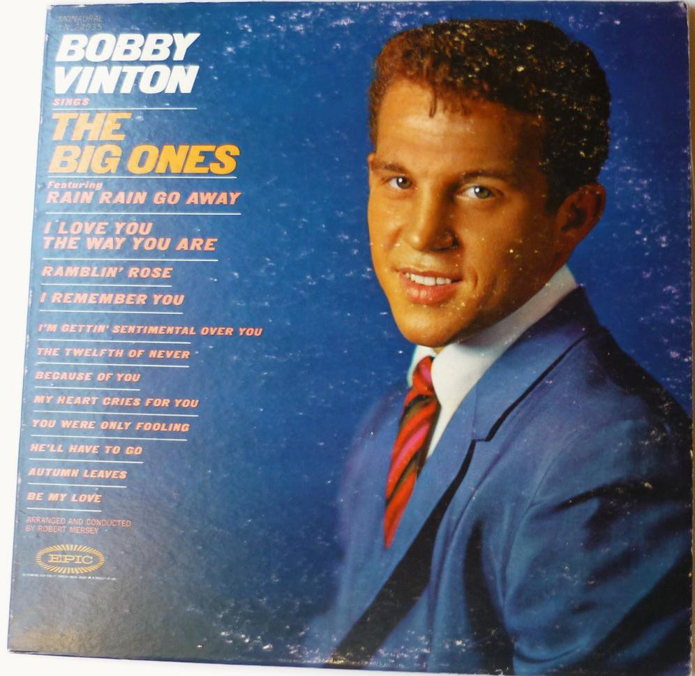 Bobby Vinton Sings the Big Ones lp ln24035