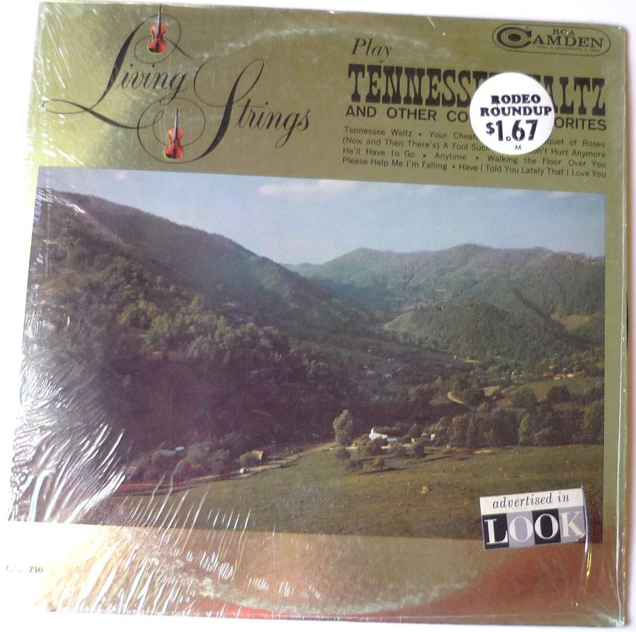 Living Strings Play Tennessee Waltz and Other Country Favorites lp