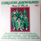 Best of Vol 111 Autographed lp by Carlton Showband