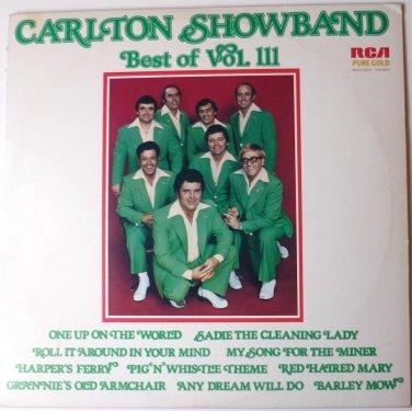 Best of Vol 111 Autographed lp by Carlton Showband