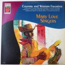 Country and Western Favorites lp by Mary Love Singers