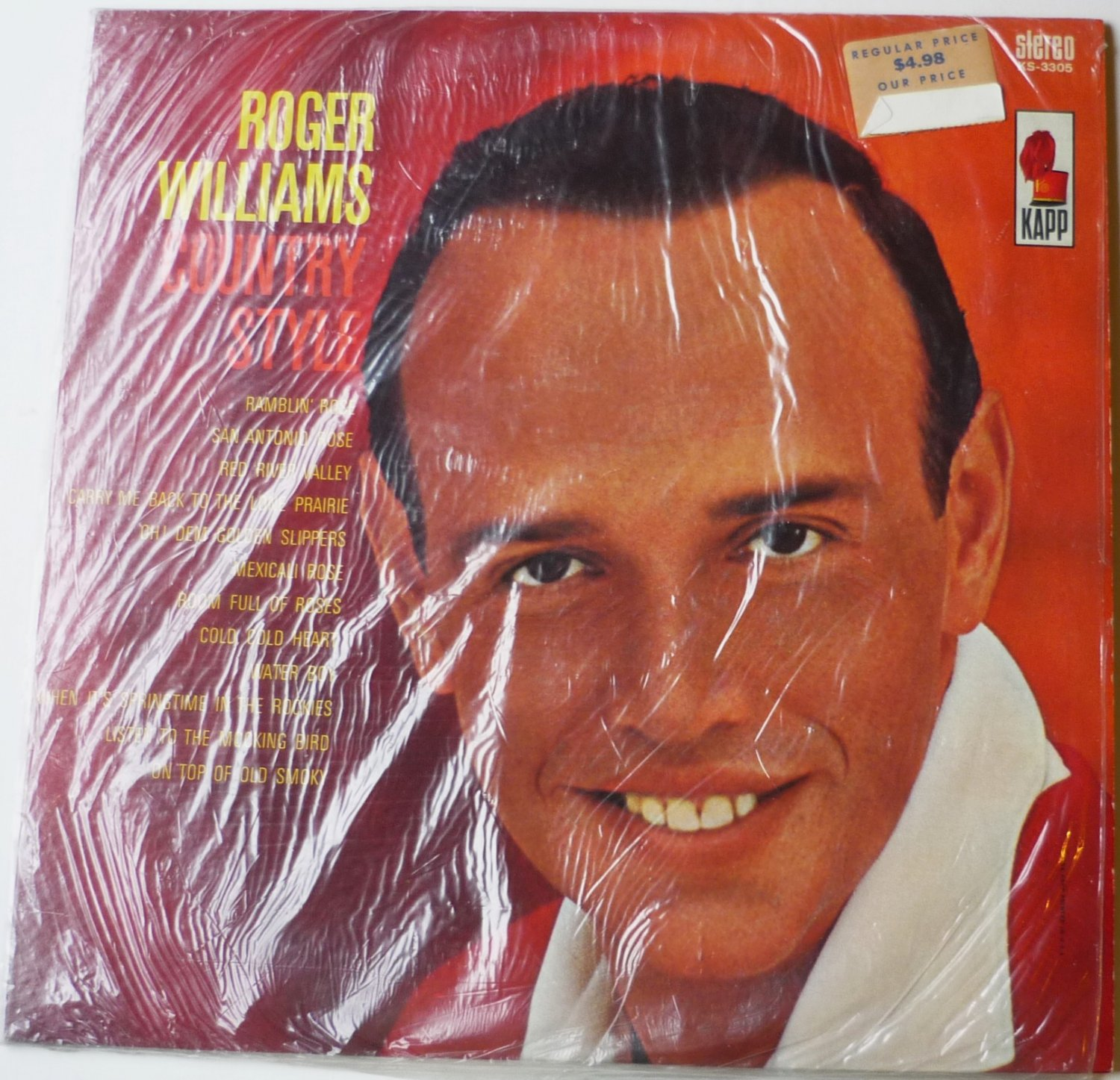 Country Style lp by Roger Williams