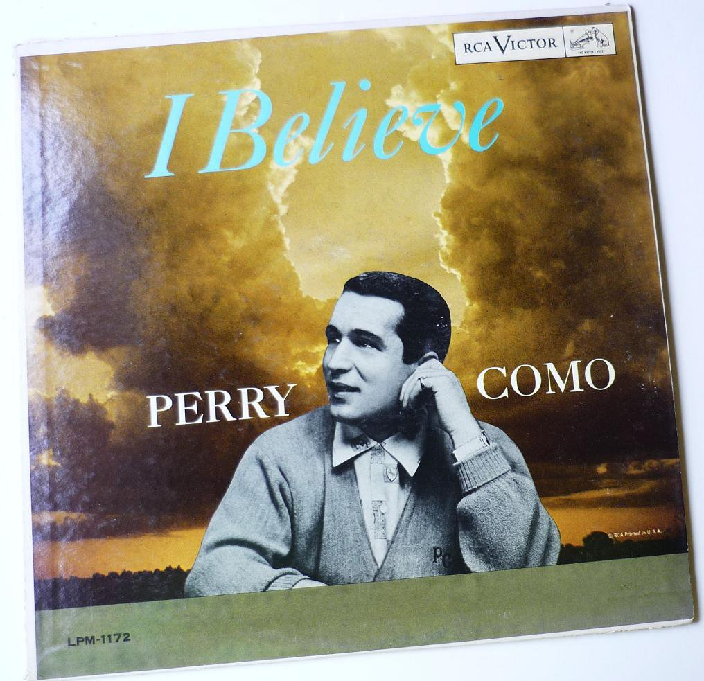 Perry Como lp I Believe - LPM1172
