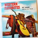 Western Favorites lp by Rex Trailer