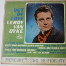 Out of Love - Autographed lp by Leroy Van Dyke