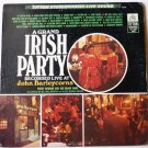 A Grand Irish Party Recorded Live at John Barleycorns by Paddy Noonan lp