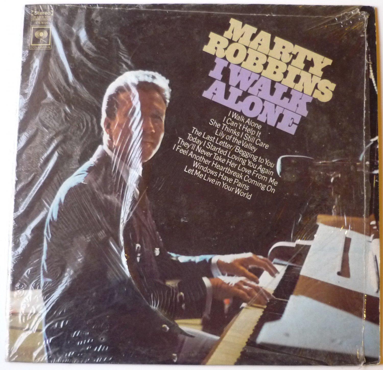 I Walk Alone  lp by Marty Robbins
