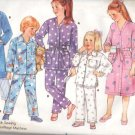 Butterick Pattern 4052 Toddlers Robe and Pajamas 1986 Size 1-3