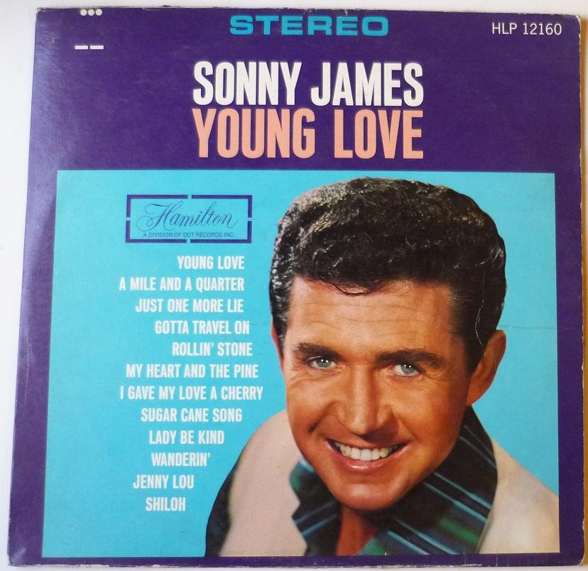 Young Love lp by Sonny James - Rare