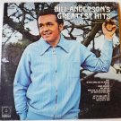 Bill Andersons Greatest Hits Vol 2 lp