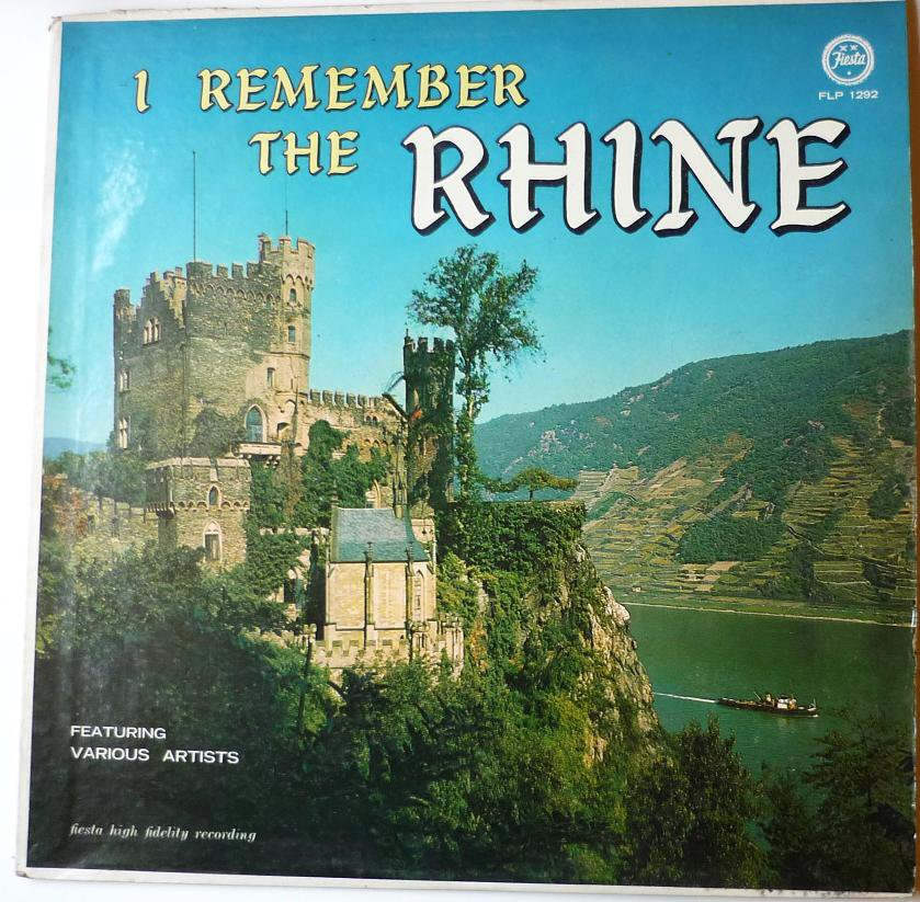 I Remember the Rhine by Various Artists lp