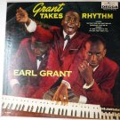 Grant Takes Rhythm LP by Earl Grant