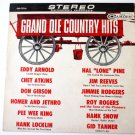 Grand Ole Country Hits Lp by Various Artists