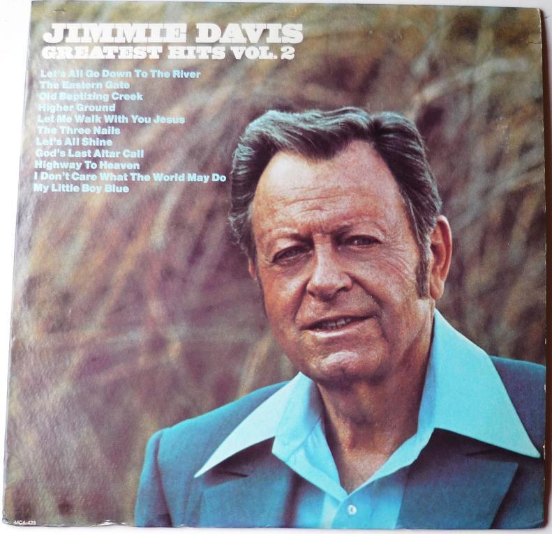 Jimmy Davis lp Greatest Hits Vol 2