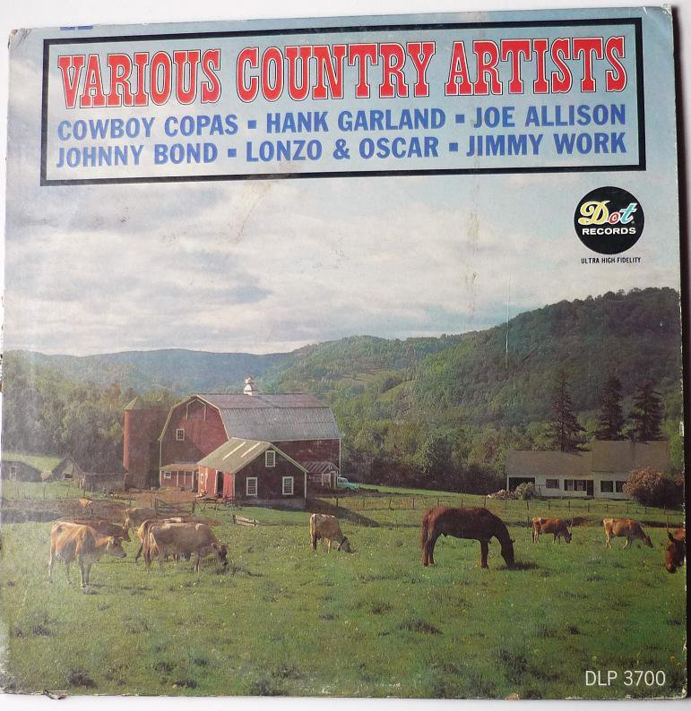 Various Country Artists, Vol. 1 LP