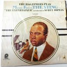 The Ragtimers Play Music From The Sting and other hits lp by Scott Joplin