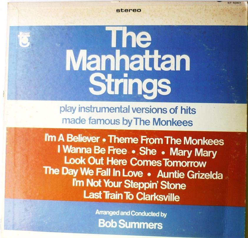 The Manhattan Strings Play Instrumental Versions of the monkees LP