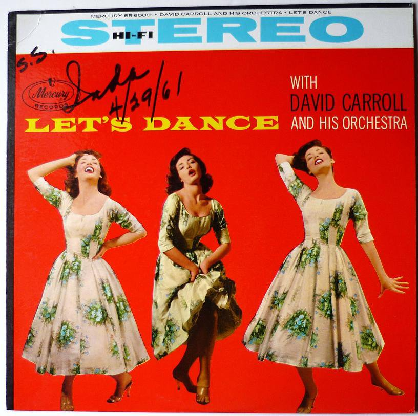 Lets Dance lp with David Carroll and his Orchestra