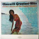Hawaiis Greatest Hits lp by Prince Kalua