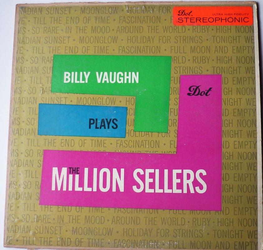 Billy Vaughn Plays the Million Sellers lp dlp25119