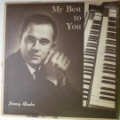 Jimmy Rhodes lp My Best to You - Autographed
