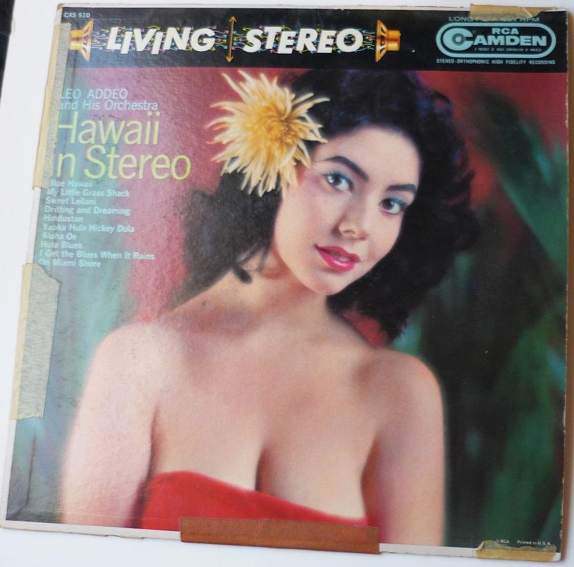 Hawaii In Stereo lp by Leo Addeo and his Orchestra