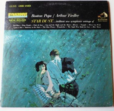 Star Dust lp by Boston Pops / Arthur Fiedler