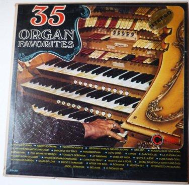 35 Organ Favorites lp - Premier Albums