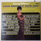 From Broadway With Love lp by Nancy Wilson