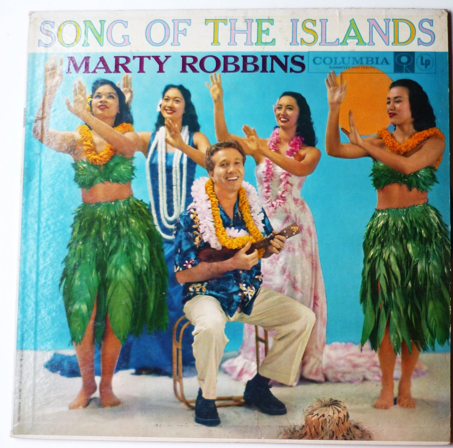 Marty Robbins - Song of the Islands lp