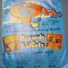 K-Tel Record Album Insert Ordering Supplies 1976 Tshirts Music