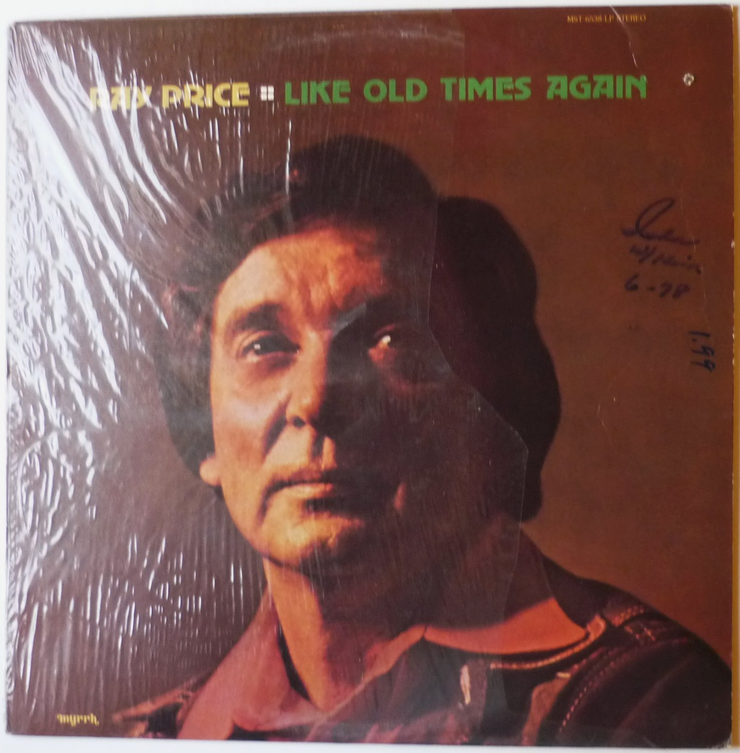 Like Old Times Again lp by Ray Price