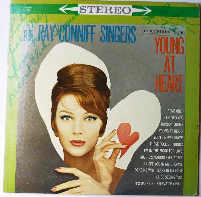 The Ray Conniff Singers: Young At Heart lp