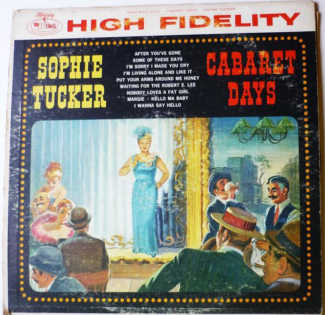 Cabaret Days LP by Sophie Tucker