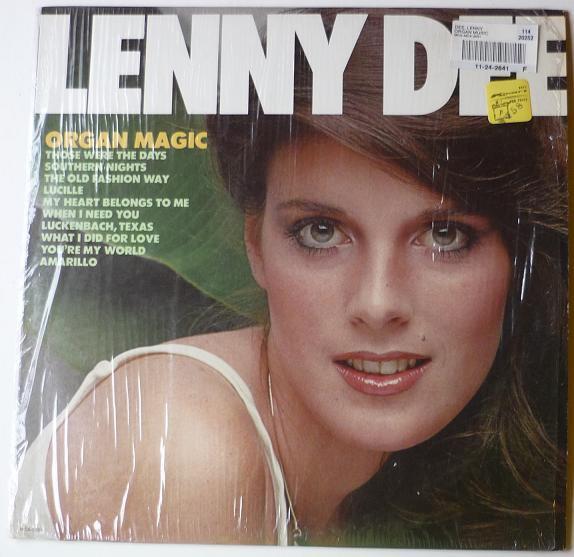 Organ Magic LP by Lenny Dee
