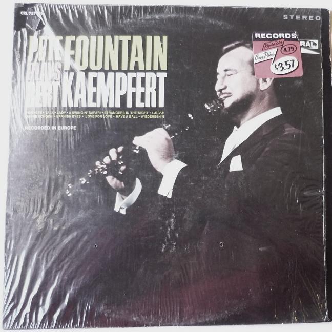 Pete Fountain Plays Bert Kaempfert lp