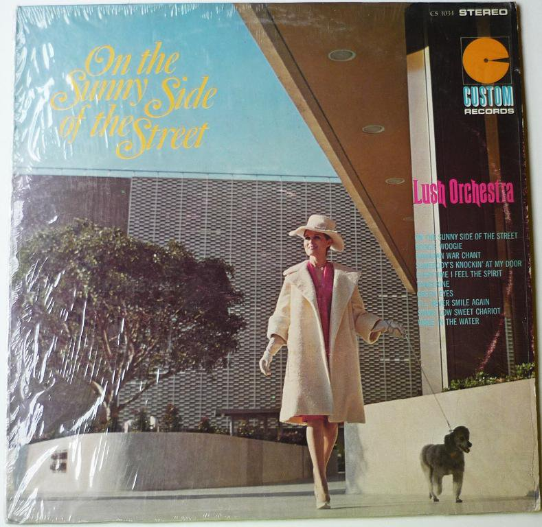 On The Sunny Side Of The Street lp by Lush Orchestra