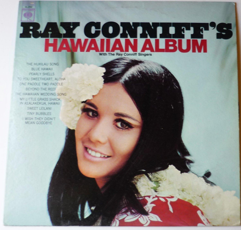 Ray Conniffs Hawaiian Album cl2747 lp