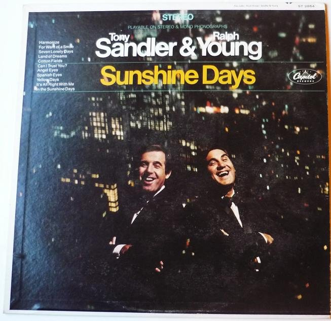 Sunshine Days lp by Tony Sandler and Ralph Young